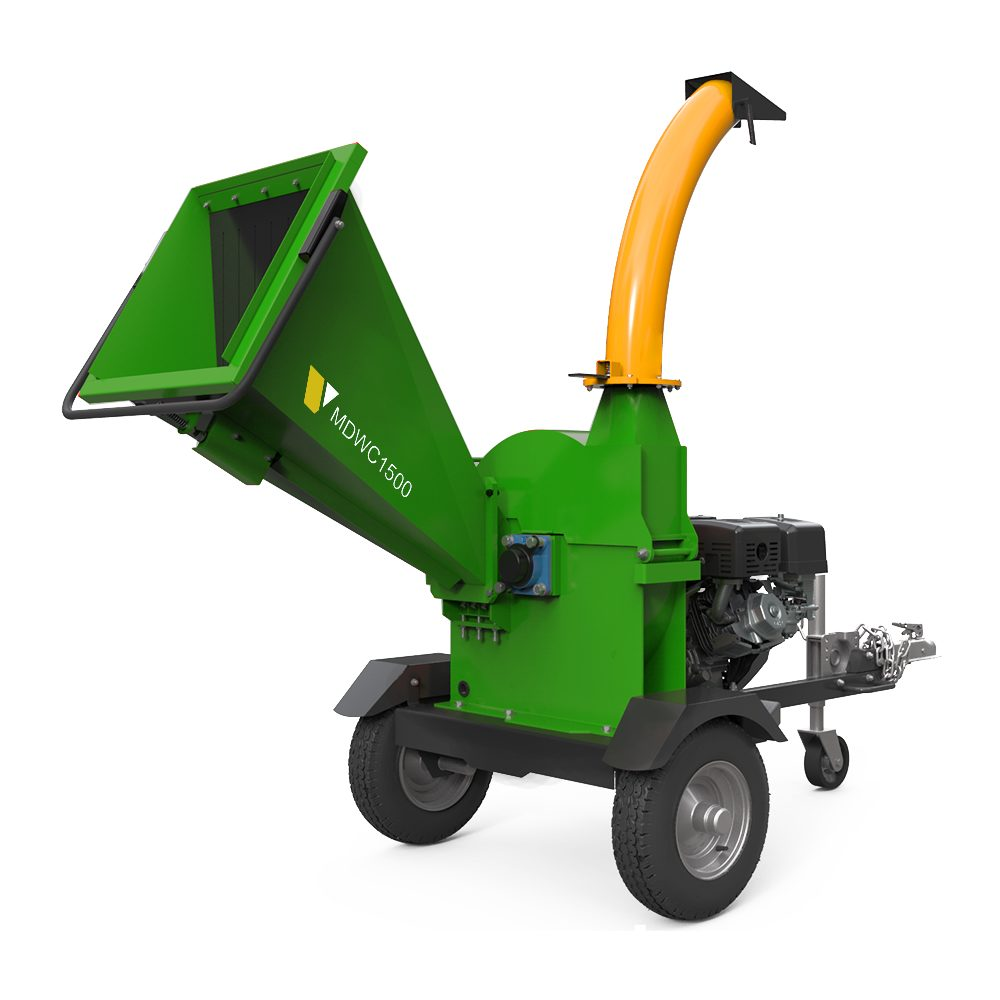 MDWC-1500 MOTORIZED DISC WOOD CHIPPER