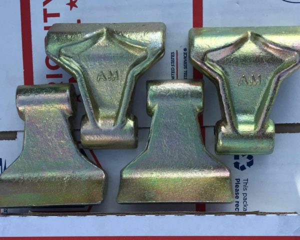 Set of 4 Replacement Flails, fits EF Flail Mowers