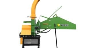WC-8H Hydraulic Wood Chipper with Self Contained Motor and Controls