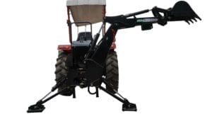 BH-6 Tractor Backhoe