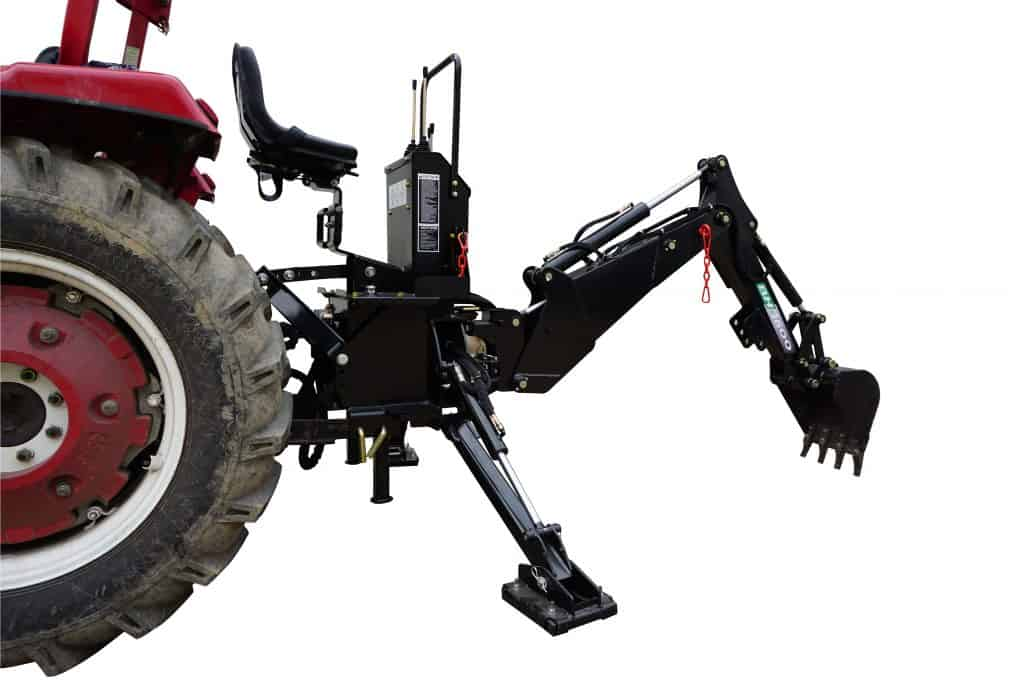 Backhoe Attachment for Tractor | BH-7 Tractor Backhoe