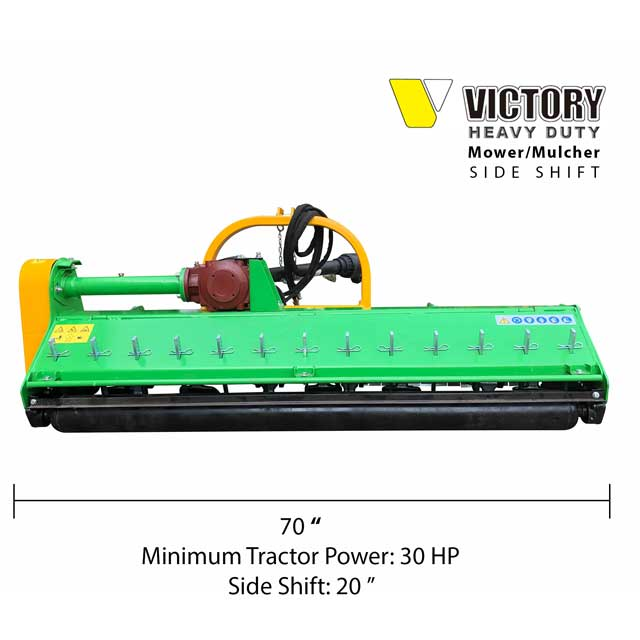 Flail Mower Mulcher for Compact Tractor