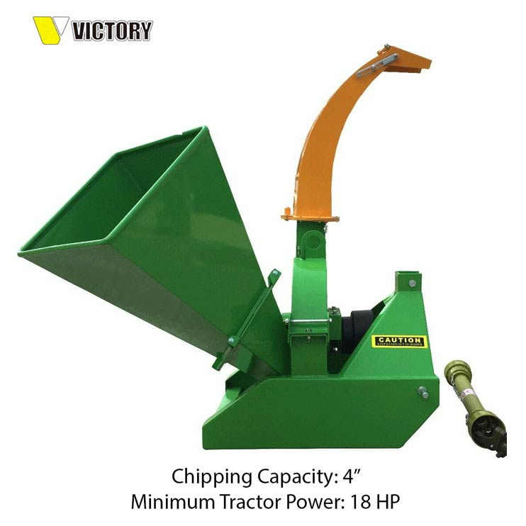 BX42S SELF-FEEDING WOOD CHIPPER