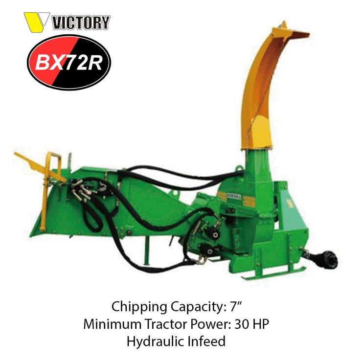 BX72R HYDRAULIC WOOD CHIPPER