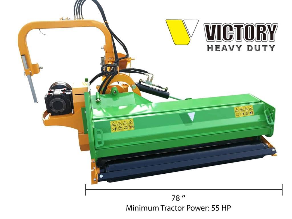 EMHD-78 Heavy Duty Ditch Mower