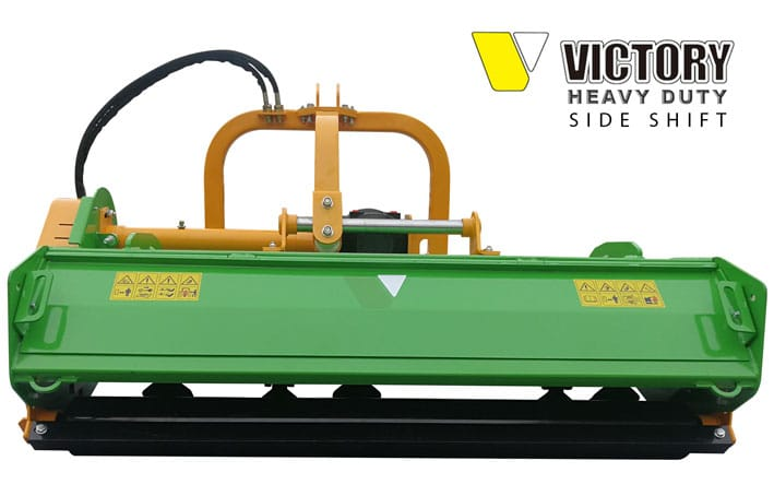 FMHDH Series: Flail Mower Heavy Duty with Hydraulic Side Shift
