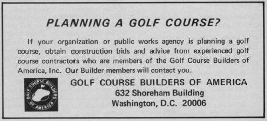 Planning a Golf Course