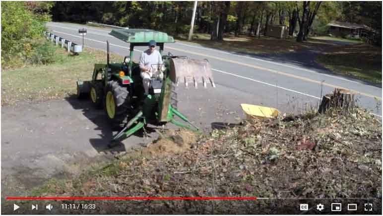 Digging a Hill