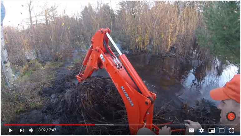 Remove a Beaver Dam
