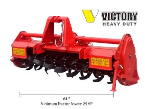 Rotary Tiller for Compact Tractor