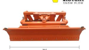 Snow Plow Blade for Compact Tractor