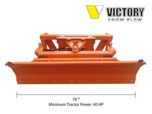 Front Mounted Snow Plow