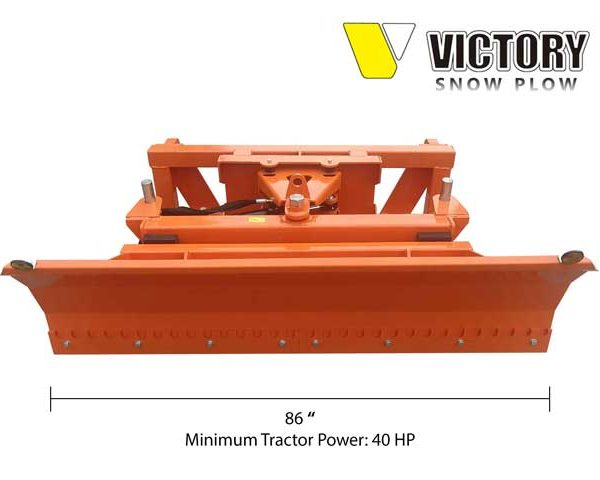 Tractor Mounted Snow Plow Blade