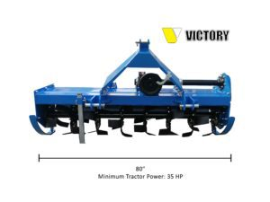 HDRT-80 Heavy Duty Rotary Tiller