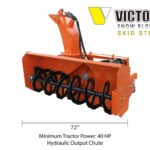 Hydraulic Snow Blower for 40HP Tractor