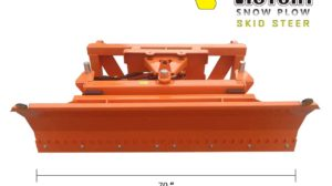 70 inch Snow Plow Blade for Skid Steer