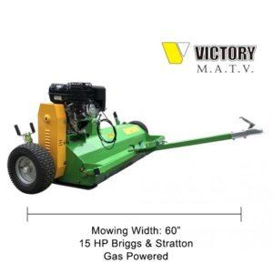 "60"" Motorized Flail Mower"
