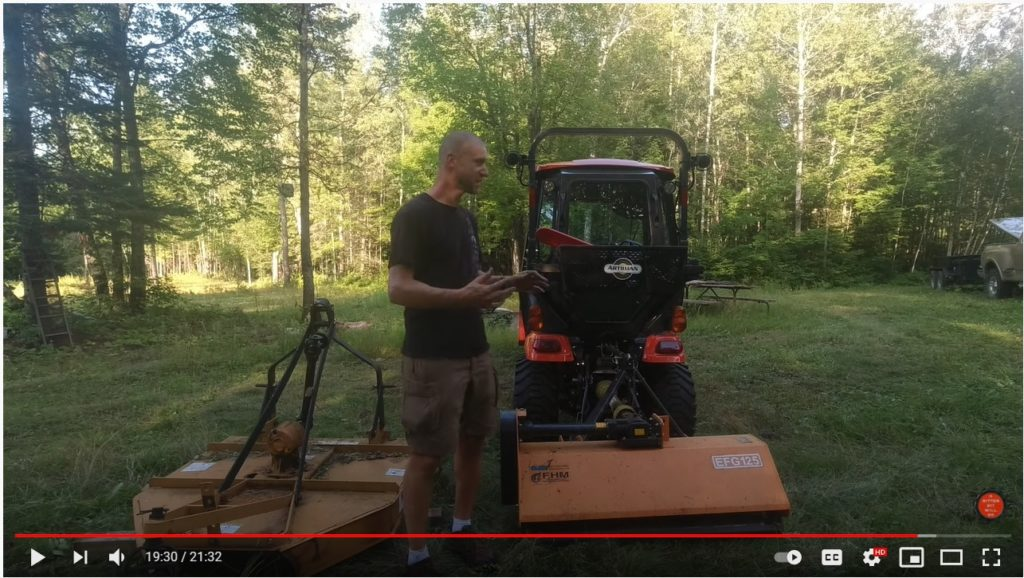 BRUSH HOG vs. FLAIL MOWER (for compact tractors)