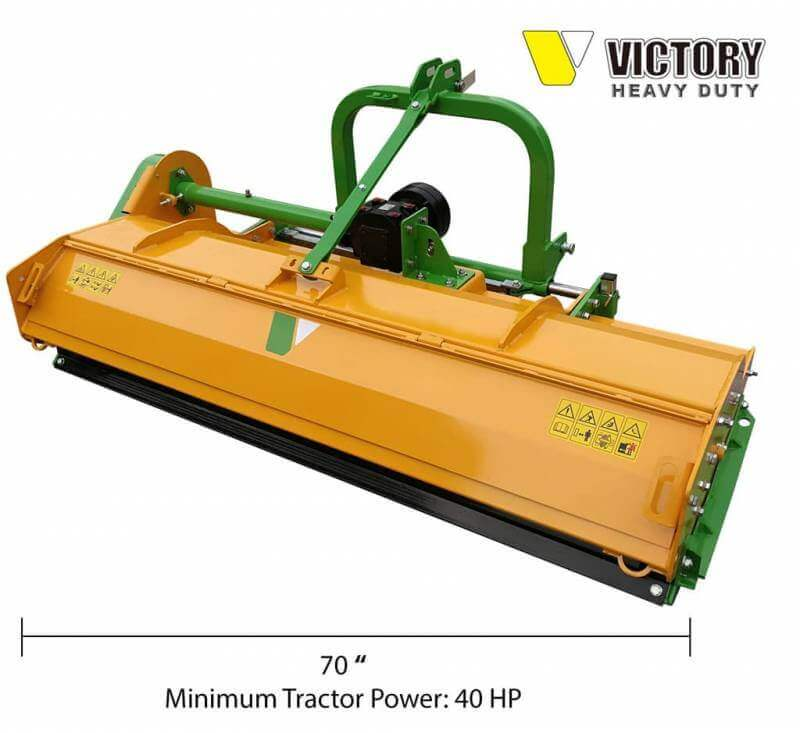 Victory FMHD-70 Heavy Duty Flail Mower